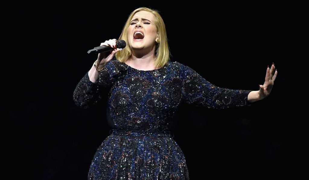 Adele's height 6