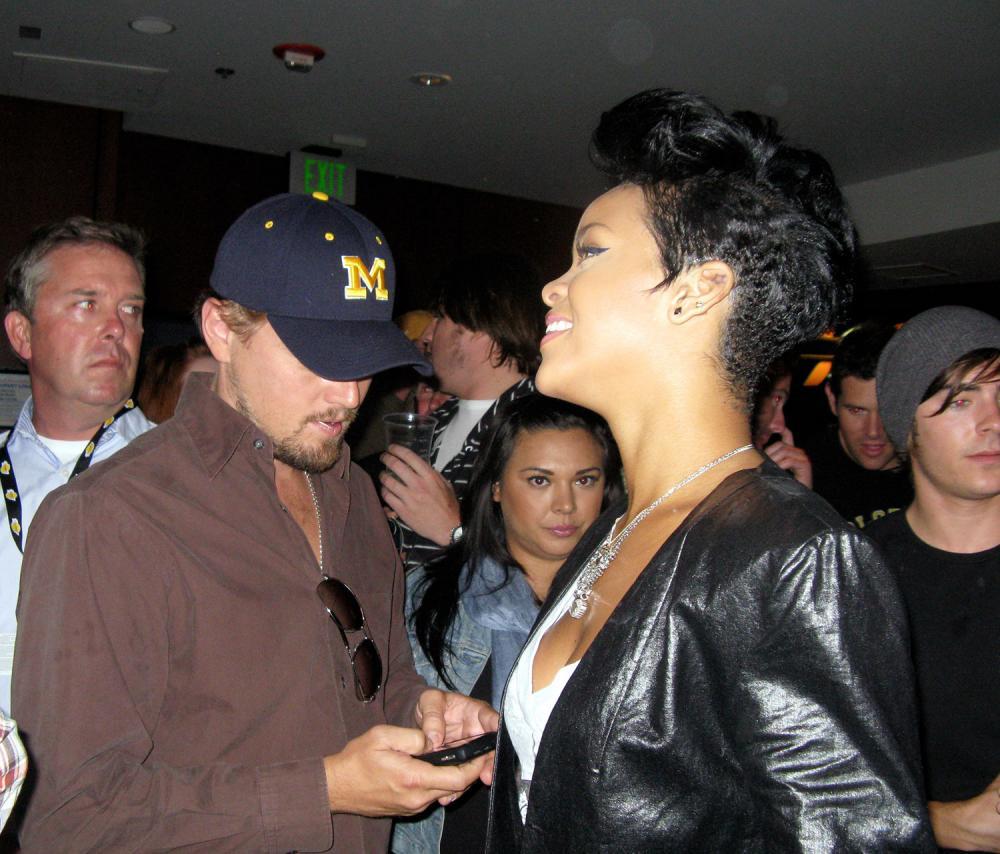 Leonardo DiCaprio's wife Riri