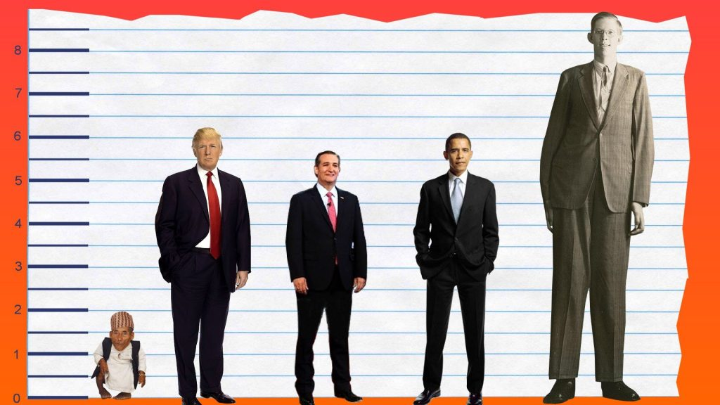 Donald Trump's height 3