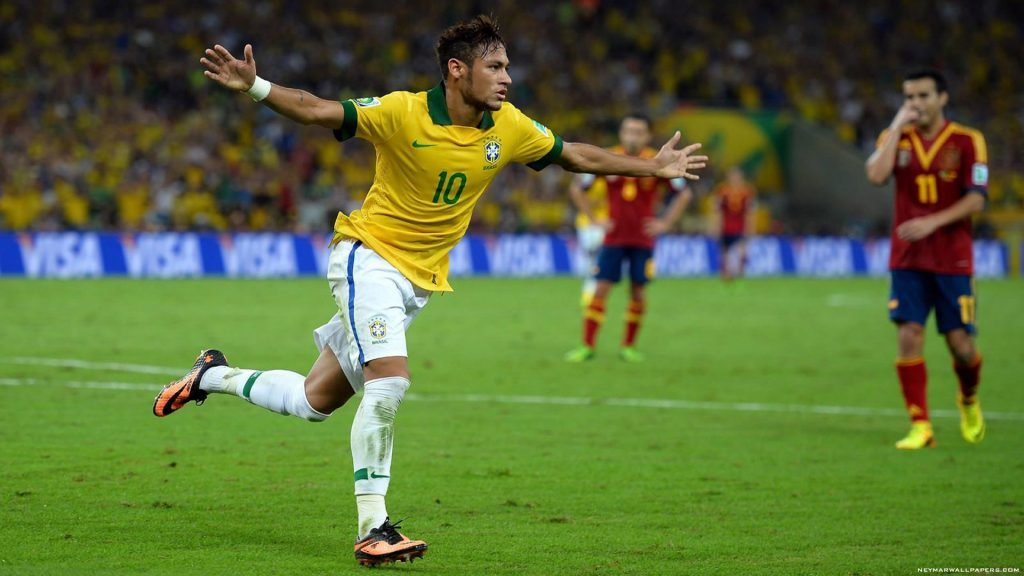 Neymar's height 2