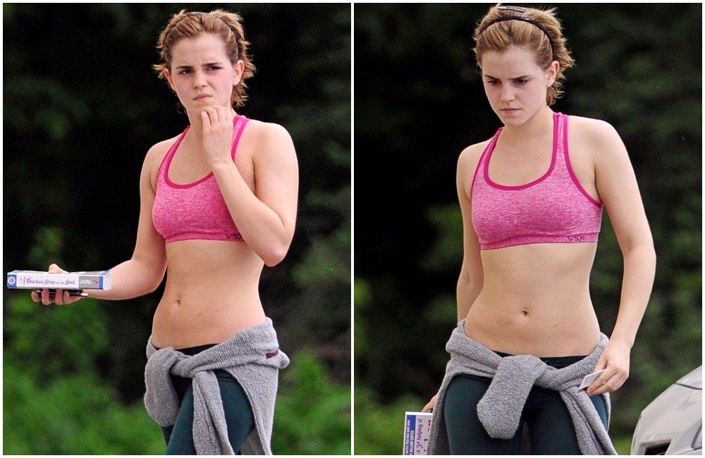 Emma Watson's height 7