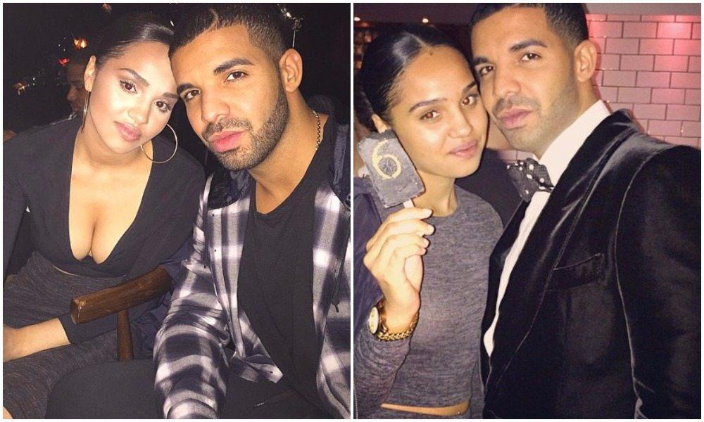 Drake and his sis