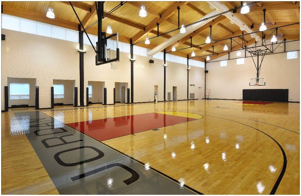 Jordan's mansion basketball