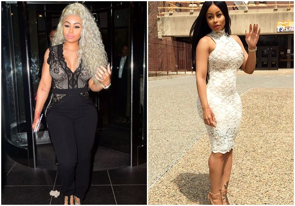 Blac Chyna's height body