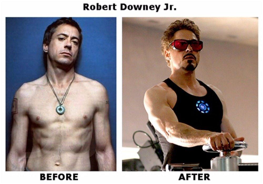 Robert Downey Jr.'s height 6