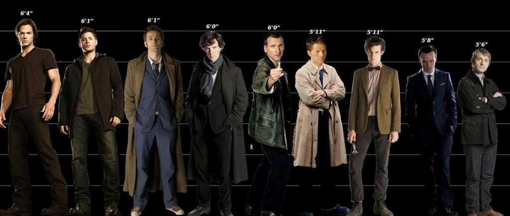 Jared Padalecki's height 4