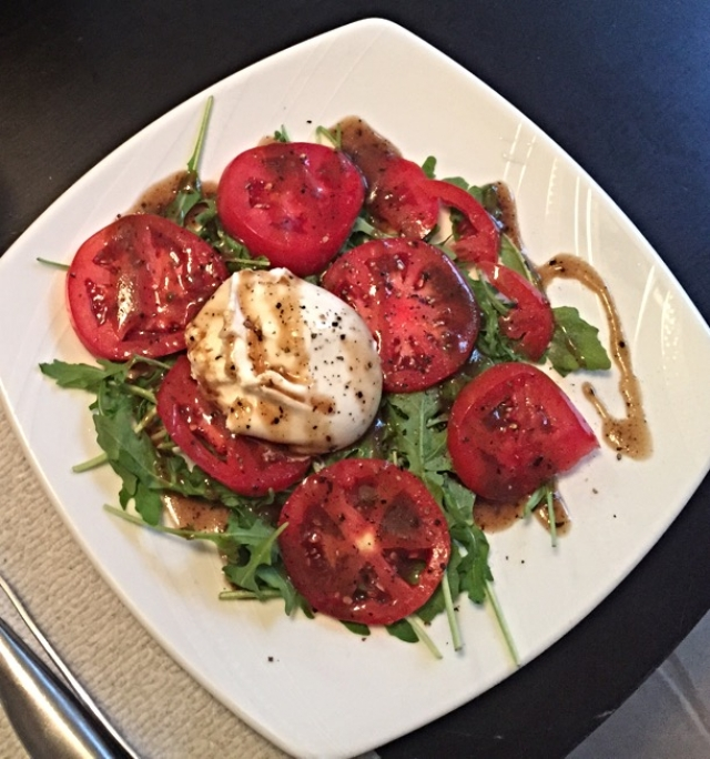 #3. #HeightsPizza #SeminoleHeights Caprese salad with burrata #lifechangingcheese kristenbrown -  RATING: 3.40