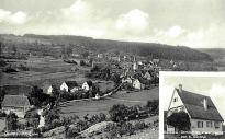 alte Ansichtskarte von Dachtel