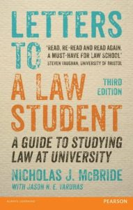 Letters to a Law Student by Nicholas McBride