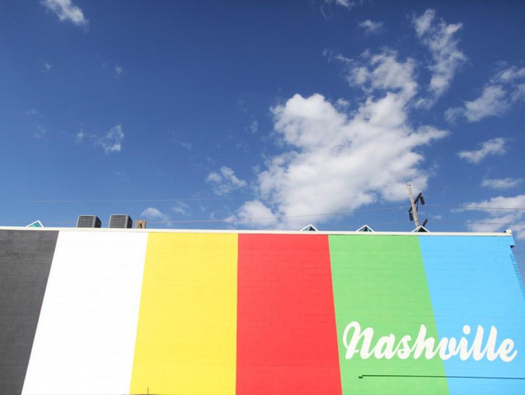 Rainbow Mural Nashville