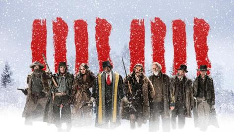 """The Hateful Eight"" have trails of blood."