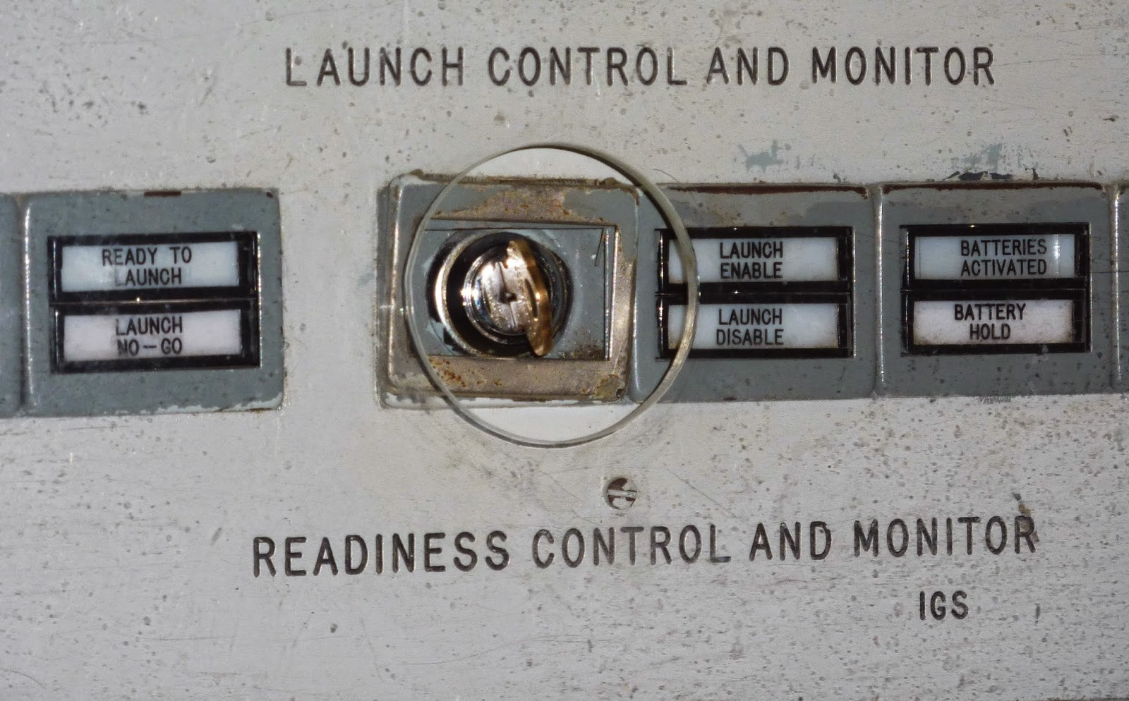 Launch Control Panel