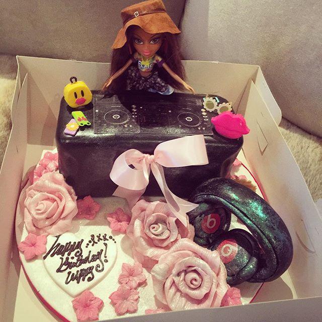 Dj cuppy celebrates 23rd birthday see her epic birthday cake cuppy cake altavistaventures Choice Image