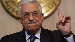 O πρόεδρος της Παλαιστινιακής Αρχής Μαχμούτ Αμπάς. Φωτογραφία αρχείου ΑΠΕ-ΜΠΕ