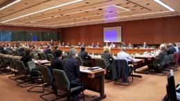 Φωτογραφία αρχείου από  συνεδρίαση του EuroWorkingGroup. Φωτογραφία EPA,  ΑΠΕ-ΜΠΕ