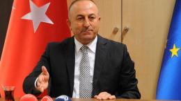 Ο Τούρκος υπουργός Εξωτερικών Μαβλούτ Τσαβούσογλου. Φωτογραφία ΤΟΥΡΚΙΚΟ ΥΠΟΥΡΓΕΙΟ ΕΞΩΤΕΡΙΚΩΝ