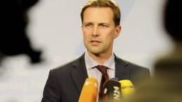 O Γερμανός κυβερνητικός εκπρόσωπος Στέφεν Ζαϊμπερτ. ΑΠΕ-ΜΠΕ