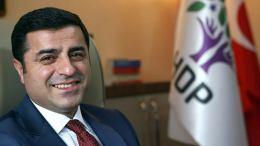 O ηγέτης του HDP Σελαχατίν Ντεμιρτάς.  Φωτογραφία ΑΠΕ-ΜΠΕ