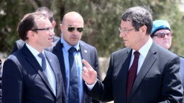 Ο Πρόεδρος Αναστασιάδης με τον κ. Άιντα. ΦΩΤΟΓΡΑΦΙΑ Σ. ΙΩΑΝΝΙΔΗΣ, ΚΥΠΕ