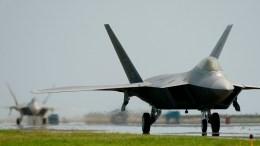 F-22 Raptors (U.S. Air Force photo / Tech. Sgt. Ben Bloker)