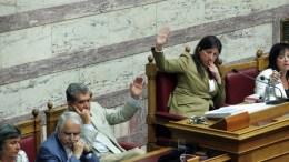 Φωτογραφία Αρχείου: Η πρώην πρόεδρος της Βουλής Ζωή Κωνσταντοπούλου και ο πρώην αντιπρόεδρος Αλέξης Μητρόπουλος (3-Α) ψηφίζουν... ΑΠΕ-ΜΠΕ, Αλέξανδρος Μπελτές
