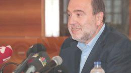 Ο αναπληρωτής υπουργός Οικονομικών Τρύφων Αλεξιάδης. ΑΠΕ-ΜΠΕ/Παντελής Σαΐτας
