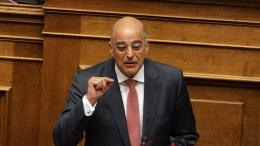 O βουλευτής της Νέας Δημοκρατίας, Νίκος Δένδιας. ΑΠΕ-ΜΠΕ, Αλεξανδρος Μπελτές