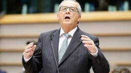 European Commission President Jean-Claude Juncker.. EPA, LAURENT DUBRULE