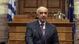 Ο Βαγγέλης Μεϊμαράκης στη Βουλή. Φωτογραφία αρχείου. EPA/ANA-MPA/ΑΛΕΞΑΝΔΡΟΣ ΒΛΑΧΟΣ
