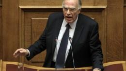 Ο πρόεδρος της Ένωσης Κεντρώων Βασίλης Λεβέντης στη Βουλή. ΑΠΕ-ΜΠΕ, ΣΥΜΕΛΑ ΠΑΝΤΖΑΡΤΖΗ