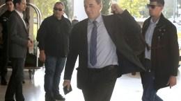 Ο υπουργός Οικονομίας, Ανάπτυξης και Τουρισμού Γιώργος Σταθάκης στο  ξενοδοχείο Χίλτον. ΑΠΕ-ΜΠΕ, ΣΥΜΕΛΑ ΠΑΝΤΖΑΡΤΖΗ