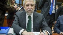 Ο υπουργός Δικαιοσύνης, Σταύρος Κοντονής. Φωτογραφία  ΑΠΕ-ΜΠΕ, EUROPEAN-UNION, Enzo Zucchi