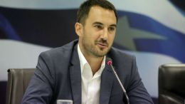 O αναπληρωτής υπουργός Οικονομίας και Ανάπτυξης, Αλέξης Χαρίτσης. ΑΠΕ-ΜΠΕ