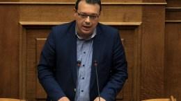 Ο κοινοβουλευτικός εκπρόσωπος  ΣΥΡΙΖΑ Σωκράτης Φαμέλλος έγινε υπουργός. ΑΠΕ-ΜΠΕ, ΣΥΜΕΛΑ ΠΑΝΤΖΑΡΤΖΗ