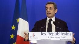 Former French President, Nicolas Sarkozy.  EPA, ETIENNE LAURENT