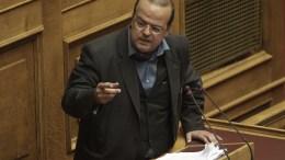 Ο βουλευτής του ΣΥΡΙΖΑ Αλέξανδρος Τριανταφυλλίδης. Φωτογραφία αρχείου. ΑΠΕ-ΜΠΕ, ΓΙΑΝΝΗΣ ΚΟΛΕΣΙΔΗΣ