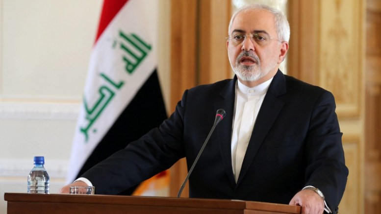 FILE PHOTO. Iranian Foreign Minister Mohammad Javad Zarif. EPA, STRINGER