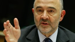 European Commissioner in charge of Economic and Financial Affairs, Pierre Moscovici.  EPA, LAURENT DUBRULE