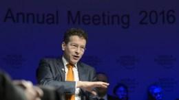 The President of Eurogroup, Dutch Finance Minister Jeroen Dijsselbloem. EPALAURENT GILLIERON