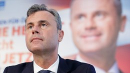 FILE PHOTO.  Right-wing Austrian Freedom Party (FPOE) presidential top candidate Norbert Hofer. EPA, LISI NIESNER