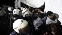 ΦΩΤΟΓΡΑΦΙΑ ΑΡΧΕΙΟΥ. Εξέγερση στο hot spot της Μόριας. Επέμβαση των ΜΑΤ και της Πυροσβεστικής.ΑΠΕ-ΜΠΕ/ΣΥΜΕΛΑ ΠΑΝΤΖΑΡΤΖΗ