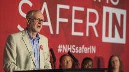 Labour leader Jeremy Corbyn . EPA, WILL OLIVER