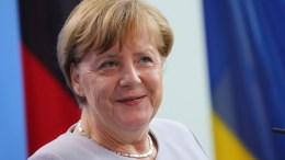 German Chancellor Angela Merkel, in Berlin, Germany. EPA, KAY NIETFELD