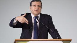 Jose Manuel Barroso, former president of the European Commission (2004 to 2014). EPA, PETER KLAUNZER