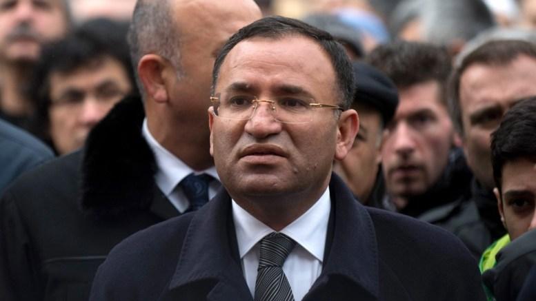 Turkish government vice president Bekir Bozdag.  EPA/MARIJAN MURAT