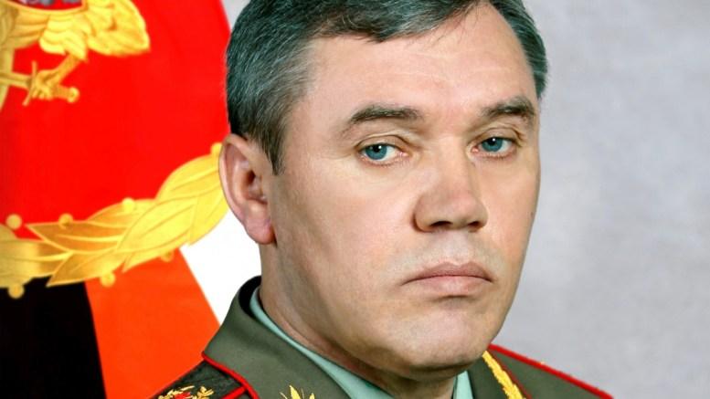 Ο Ρώσος αρχιστράτηγος στρατηγός Βαλερί Γερασίμοφ.