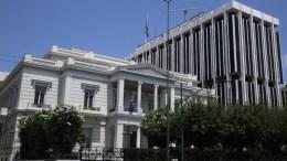 Δυνάμεις στην Τουρκία  δεν επιθυμούν τη συνεννόηση και τις σχέσεις καλής γειτονίας αναφέρει το ΥΠΕΞ σχετικά με τις τουρκικές παραβιάσεις στο Αγαθονήσι. ΑΠΕ-ΜΠΕ/ΟΡΕΣΤΗΣ ΠΑΝΑΓΙΩΤΟΥ