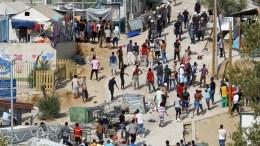File Photo: Κέντρο φιλοξενίας προσφύγων. ΑΠΕ-ΜΠΕ, ΣΤΡΑΤΗΣ ΜΠΑΛΑΣΚΑΣ