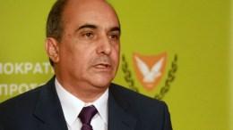 Ο Πρόεδρος της κυπριακής Βουλής των Αντιπροσώπων κ. Δημήτρης Συλλούρης. Φωτογραφια ΣΤ. ΙΩΑΝΝΙΔΗΣ