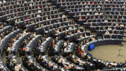 The European Parliament in Strasbourg. FILE PHOTO. EPA, PATRICK SEEGER.